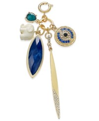Inc International Concepts M. Haskell For Inc Gold Tone Multi Charm Clip On Pendant Only At Macy's