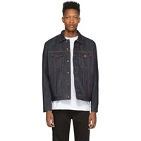 Nudie Jeans Blue Denim Jerry Dry Jacket