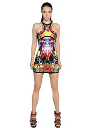 Dsquared Exotic Printed Scuba Dress