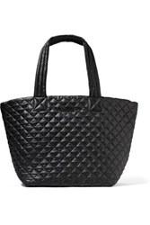 M Z Wallace Mz Metro Quilted Shell Tote Black
