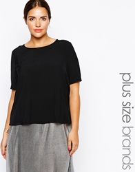 Alice And You Boxy Tee Black