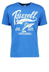 Russell Athletic Print Tshirt Blue