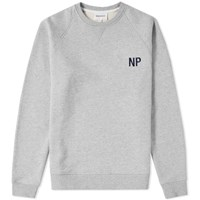 Norse Projects Ketel Embroidery Logo Sweat Grey