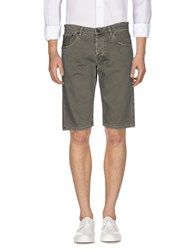 Macchia J Denim Bermudas Military Green