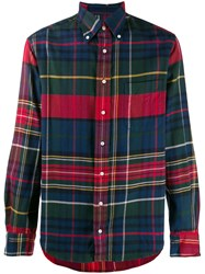 Gitman Brothers Vintage Plaid Revised Camp Shirt 60
