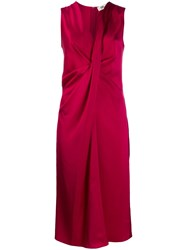 Diane Von Furstenberg Katrita Satin Draped Dress 60