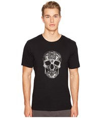 The Kooples Printed And Embroidery T Shirt Black Men's T Shirt