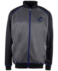 Majestic Men's Tampa Bay Lightning Wow Track Jacket Charcoal Black