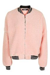 Jaded London Pink Oversized Bomber By