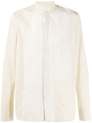 Ziggy Chen Contrasting Panel Shirt 60