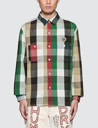 Human Made Hm7 Flannel L S Shirt