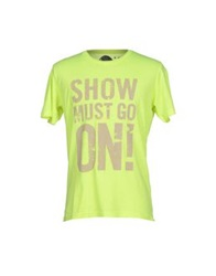 Amaranto T Shirts Acid Green