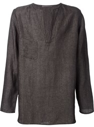Denis Colomb 'Juban' Tunic Grey