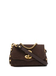 Zanellato Postina Studded Shoulder Bag 60