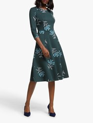 Boden Nancy Floral Ponte Dress Midnight Garden