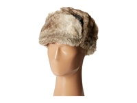 Woolrich Wool Aviator With Faux Fur Lining And Earflaps Brown Caps