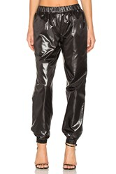 Kenzo Light Shiny Pants Black
