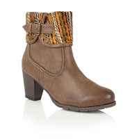 Lotus Zalea Ankle Boots Brown
