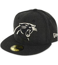 New Era 59Fifty Carolina Panthers Fitted Cap Black Silver