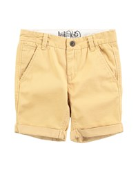 Molo Twill Rolled Hem Shorts Lion Gold
