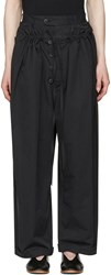 Craig Green Black Tailored Pyjama Trousers
