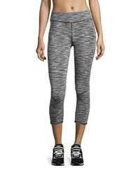 Marc New York Marc Ny Performance Space Dye Cropped Leggings Black