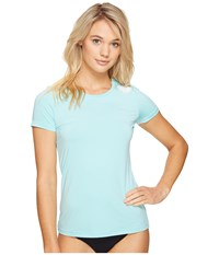 Rip Curl Whitewash Loose Fit Short Sleeve Aqua Women's Swimwear Blue