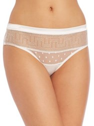 Huit Visite Privee Culotte Brief Ivory