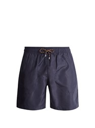 Stella Mccartney Straight Leg Swim Shorts Navy