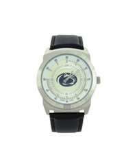 Game Time Penn State Nittany Lions Vintage Watch Black Silver