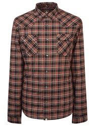 Pretty Green Stomall Western Long Sleeve Shirt
