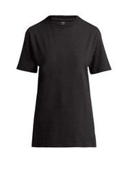 Hanes X Karla The Classic Cotton Jersey T Shirt Black