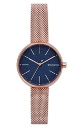 Skagen Women's Round Mesh Strap Watch 30Mm