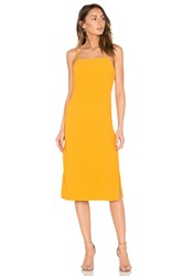 Elliatt Rise Dress Yellow