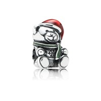 Pandora Design Christmas Teddy Bear Charm