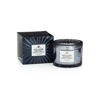 Voluspa Vermeil Boxed Maison Candle Makassar Ebony And Peach