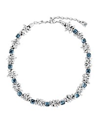 Uno De 50 The Jewel Necklace 14 Blue