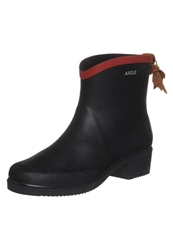 Aigle Juliette Wellies Marine Rouge Dark Blue