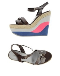 Sergio Rossi Sandals Brown