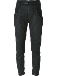 Diesel Black Gold Waxed Effect Jeans