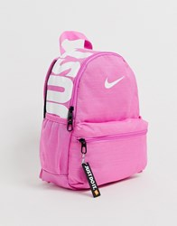 Nike Pink Just Do It Mini Backpack