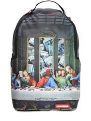 Sprayground Last Pay Out Techno Backpack Multicolor