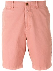 Closed Casual Chino Shorts Men Cotton 32 Pink Purple