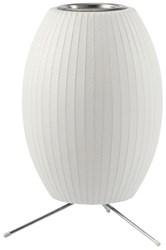 Herman Miller Cigar Table Lamp With Tripod Stand Small 10.5 In D White