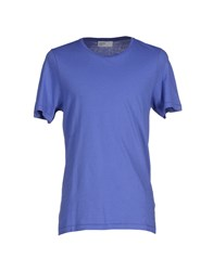 Pantone Topwear T Shirts Men Purple