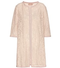 81 Hours Letto Lace Open Cardigan Neutrals