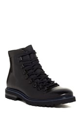 Kenneth Cole Click Magnet Mid Lace Up Boot Black