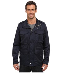 Lucky Brand Nylon Military Jacket Savile Row Men's Coat Multi
