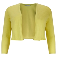 Windsmoor Knitted Bolero Bright Yellow