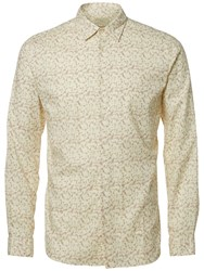 Selected Homme Onelab Long Sleeve Shirt Burlwood Papyrus